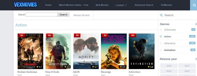 Best Free Movies Streaming Sites With no Sign up