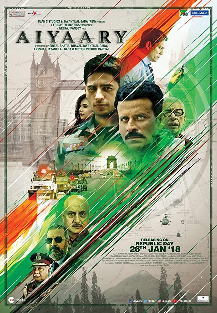 Aiyaary (2018) (Indian) Filmyzilla Free Download