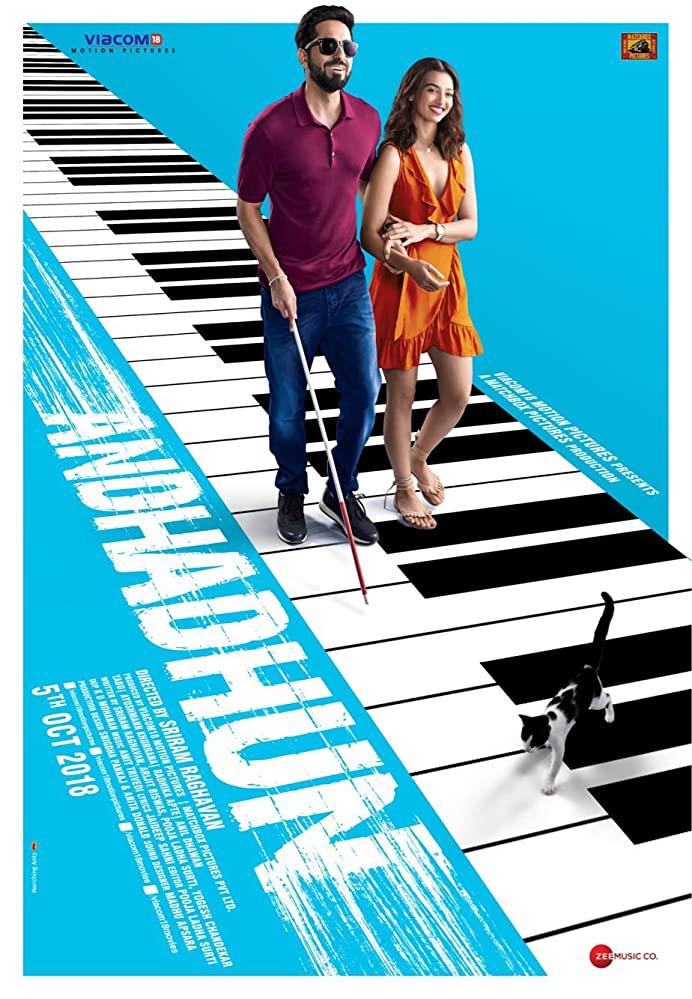 Andhadhun (2018) (Indian) Filmyzilla Free Download