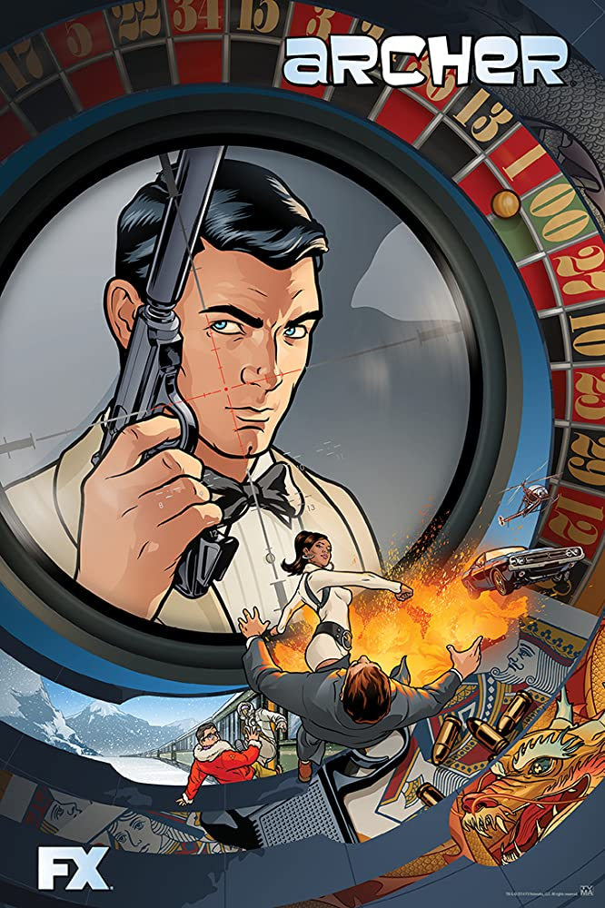 Archer Season 1, 2, 3, 4, 5, 6, 7, 8, 9, 10, 11 Fztvseries Free Download