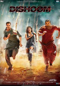 Dishoom (2016) (Indian) Filmyzilla Free Download
