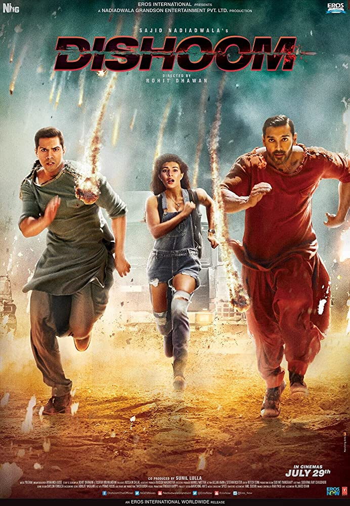 Dishoom (2016) (Indian) Filmyzilla Free Download