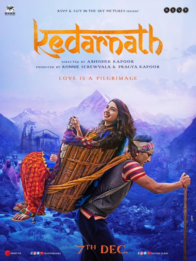 Kedarnath (2018) (Indian) Filmyzilla Free Download