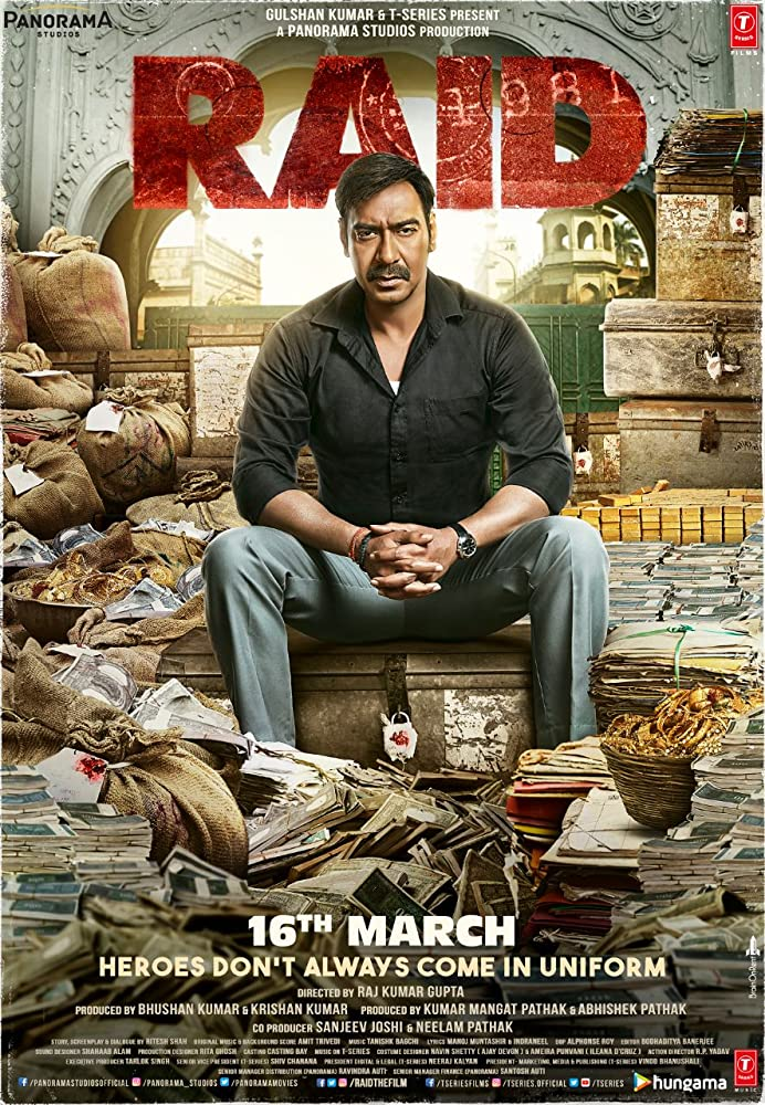 Raid (2018) (Indian) Filmyzilla Free Download