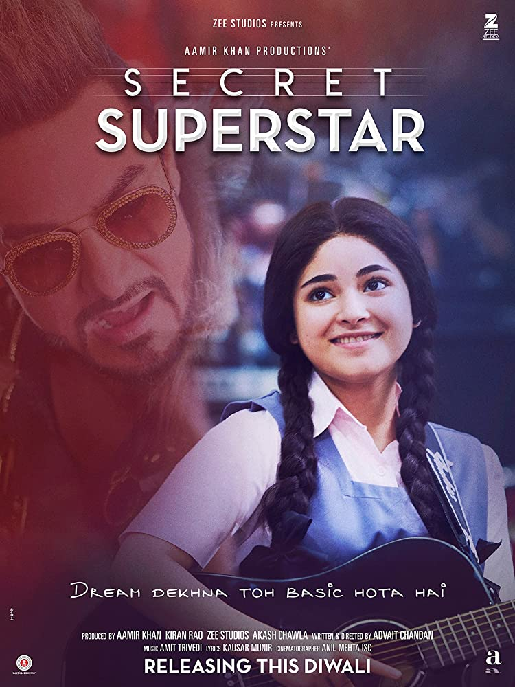 Secret Superstar (2017) (Indian) Filmyzilla Free Download