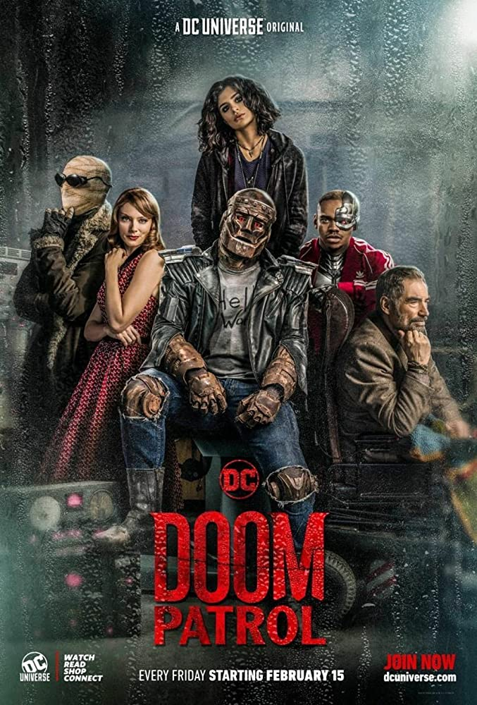 Doom Patrol Season 1, 2, Fztvseries Free Download