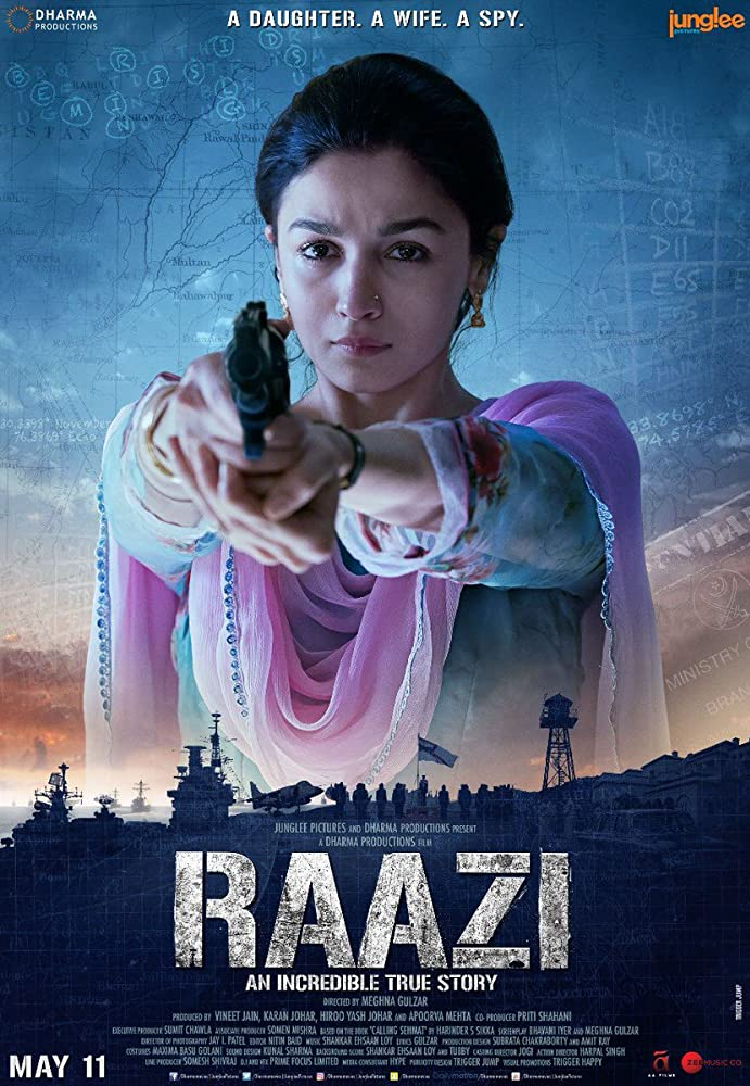 Raazi (2018) (Indian) Filmyzilla Free Download
