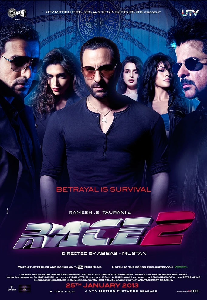 Race 2 (2013) (Indian) Filmyzilla Free  Download