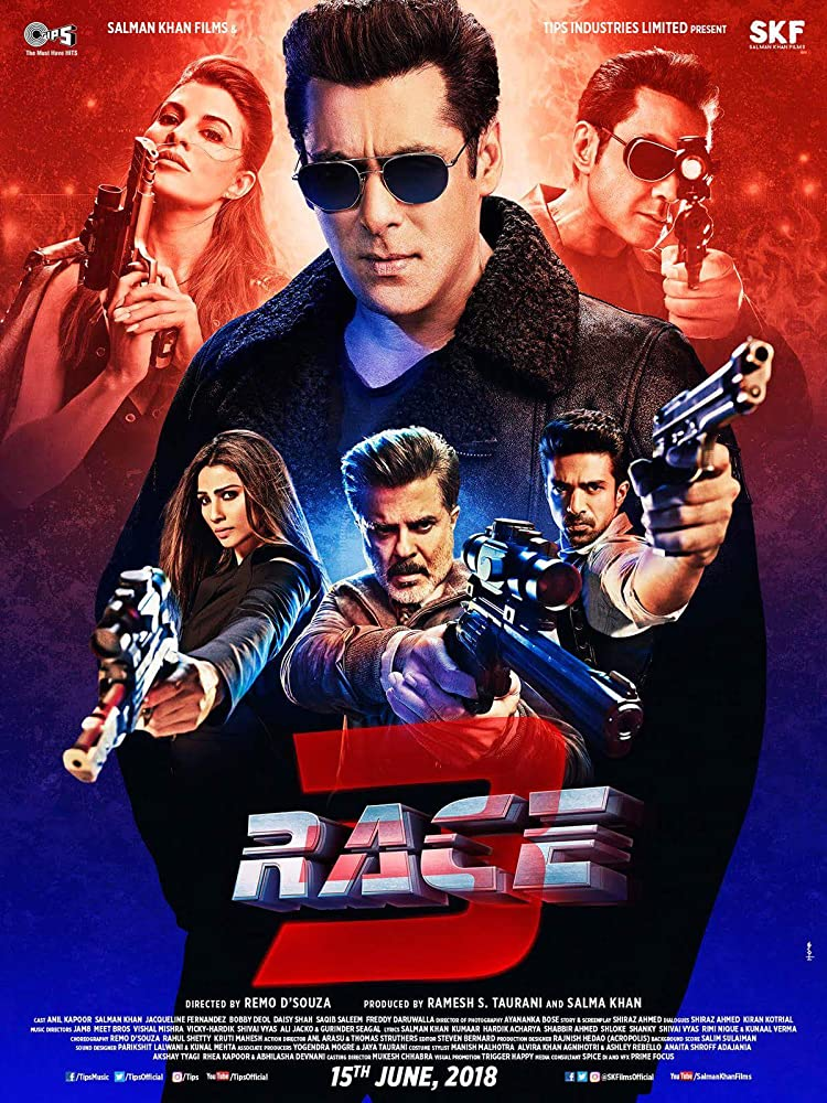Race 3 (2018) (Indian) Filmyzilla Free Download