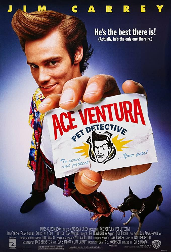 Ace Ventura (1994-1995) Fzmovies Free Download
